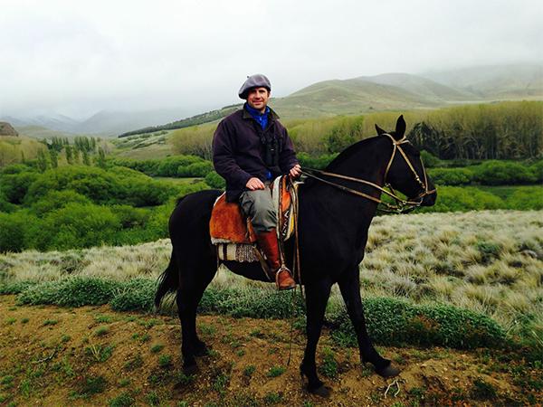 Santiago horseback hunting in Argentina