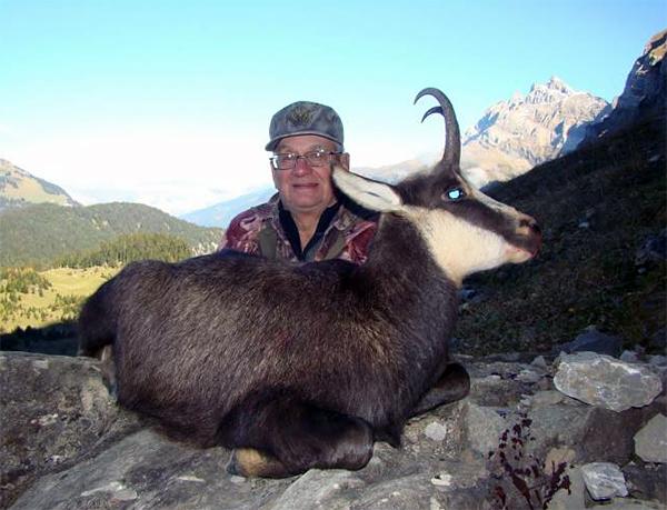 Trophy Alpine Chamois Hunting in Switzerland