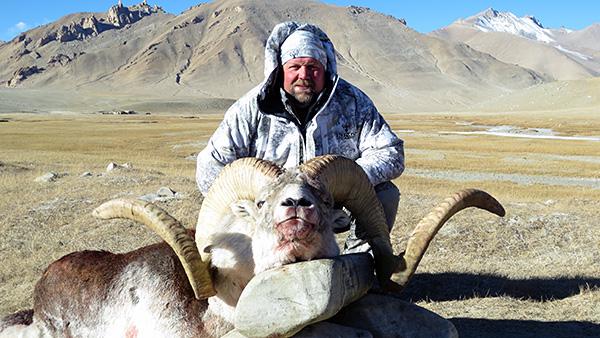 Trophy Pamir Marco Polo Argali Sheep Hunting in Tajikistan